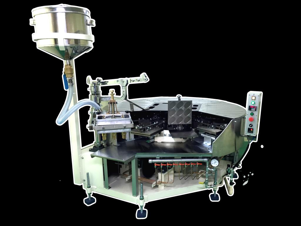 ロータリー式煎餅焼成機の写真